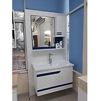 Bộ tủ chậu rửa mặt liền bàn LBK108