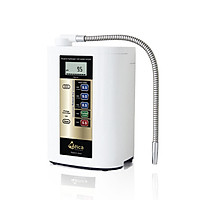 Máy lọc nước ion kiềm giàu hydro Atica Eco - Hàng chính hãng sản xuất bởi tập đoàn Hitachi Maxell Nhật Bản sử dụng công nghệ điện phân 2 lần làm giàu hydro trong nước tốt cho sức khỏe