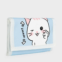 Ví thời trang Teen ZAKOMI hình mèo vải cao cấp chống nước ZVIMEO - Bảo hành 12 tháng