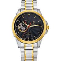 Đồng hồ nam dây kim loại Automatic Olym Pianus OP990-083AMSK đen
