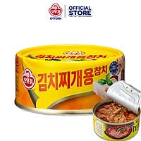 Cá ngừ hộp nấu canh kimchi Ottogi hộp 150g