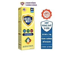 Sữa bột Colosmulti A1 hộp 2 gói x 14g tăng sức đề kháng cho trẻ
