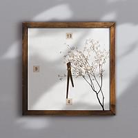 Đồng hồ treo tường canvas Artclock Soyn C76
