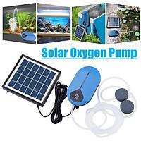 3Modes Solar Powered Pool Pond Fish Tank Oxygenator Oxygen Aerator Air Pump Kit Solar Panel Water Pump For Garden Pond Pool Fish Tank With Solar Panel
