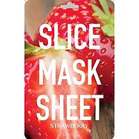 Mặt Nạ Lát Dâu KOCOSTAR KOCOSTAR's Strawberry Slice Mask Sheet