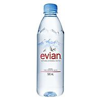Nước khoáng tự nhiên Evian Pháp 500ml - 3004755