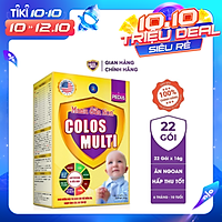 Sữa bột Colosmulti Pedia hộp 22 gói x 16g chuyên biệt giúp bé ăn ngoan