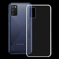 Ốp lưng cho điện thoại SAMSUNG GALAXY A02S - 01334 - Ốp dẻo trong suốt, bảo vệ điện thoại - Hàng Chính Hãng