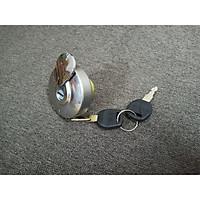 nắp bình xăng cho xe máy có chìa khóa tặng 1 cặp bao tay xe máy