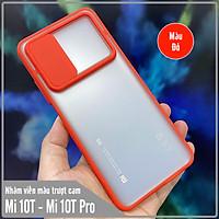 Ốp lưng cho Xiaomi Mi 10T Pro - Redmi K30S nhám viền màu trượt camera