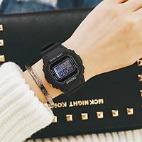 Đồng hồ thể thao nữ trẻ trung năng động phong cách Hàn Quốc Dây Silicon AD009