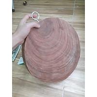 Thớt nghiến đường kính 30cm dày 4cm