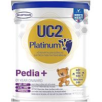 Sữa bột UC2 Platinum Pedia + 800g (giúp bé cải thiện tình trạng biếng ăn, dành cho trẻ từ 1 tuổi trở lên)