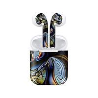 Miếng dán skin chống bẩn cho tai nghe AirPods in hình Họa tiết - HTx023 (bản không dây 1 và 2)