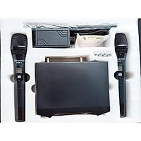 Bộ 2 micro không dây bluetooth Bradwell FBR1 _Hàng chính hãng
