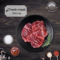 Cheek Meat (Thịt má) - Khay 300g