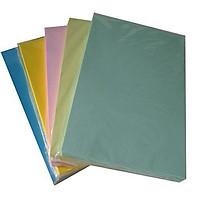 Giấy bìa màu A4, bìa cứng loại 1 đủ 100 tờ định lượng 180 gsm ĐỦ MÀU (100 tờ)
