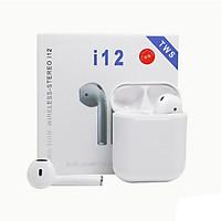 Tai nghe Bluetooth Lanith i12 TWS 5.0 không dây – Tai nghe không dây kiểu dáng hiện đại, thời thượng - Hàng nhập khẩu – TAI0001