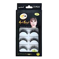 5 cặp lông mi giả dài và cong Natural & Soft Eyelash (số 04)