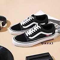 Giày Vans Old Skool Pro Black White - VN000ZD4Y28