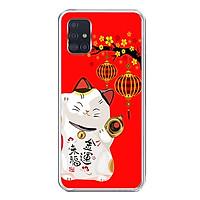 Ốp lưng dẻo cho điện thoại Samsung Galaxy A51 - 0191 MEOTHANTAI02 - Hàng Chính Hãng