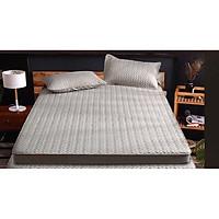 Bộ Ga Gối Poly Cotton gồm 1 ga drap theo giường 2 vỏ gối nằm
