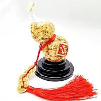 Hồ Lô Kim Trung Thủy Ngũ Dại Phúc ( 20 x 8,5 cm ) Kim Tiền Jewelry - Vàng Dát Mỏng 24K - Đại Cát Đại Lợi - Trường Thọ