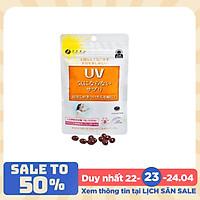 Viên uống chống nắng UV Fine Japan Nhật Bản, chống nắng toàn diện, giảm thâm nám, 30 viên/túi