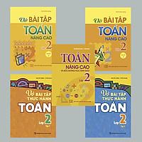 Combo 5 cuốn thực hành và nâng cao Toán lớp 2