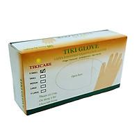 Găng tay cao su y tế Tikicare size L có bột (100 chiếc/hộp)