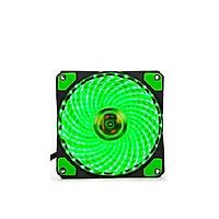Fan 33 Bóng LED 1 màu dành cho case với kích thước quạt 12cm tạo điểm nhấn cho case - lk1984 - giao màu ngẫu nhiên