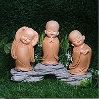 Bộ 3 chú tiểu yêu đời có đế