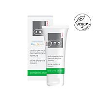 Ziaja Med Kem Dưỡng  Ngừa Mụn Trứng Cá Ziaja Med Anti-Imperfections Dermatological Formula Anti Acne Cream 50ml