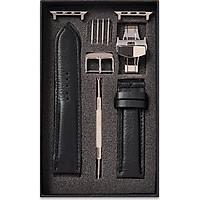 Dây đồng hồ SAM Leather SAM005ABD - Dây da đồng hồ Apple Watch 38/40 – 42/44, dây đồng hồ da bò Size 20mm/22mm, Dây đeo đồng hồ phù hợp các loại ( Swatch, Apple 1,2,3,4,5, Iwatch và đồng hồ cổ điển )