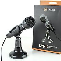 Microphone Vi Tính Krom KYP - Mic Thu Âm,Đàm Thoại ,Gaming, Hát Karaoke trên máy tính - Hàng Chính Hãng