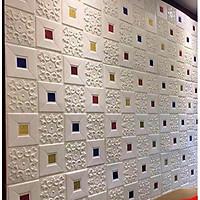 xốp dán tường 3D văn hoa cổ điển
