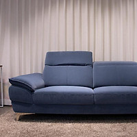 Ghế Sofa Griffin 3 Chỗ Easy Clean Navy Jang In 1701510001-01