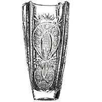 Lọ Hoa Pha Lê Crystalite Bohemia Bom Vuông 30.5cm M56