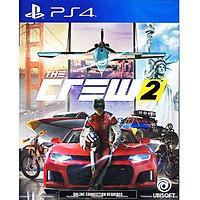 Đĩa Game PS4 The Crew 2 Hệ Asia - Hàng Nhập Khẩu
