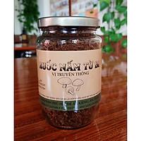 Ruốc nấm chay vị truyền thống lọ 200gr - Thực phẩm chay Bông Sen Xanh