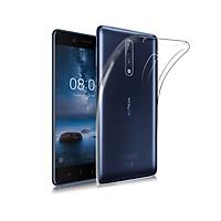 Ốp Dẻo Trong Suốt Dành Cho Nokia 8