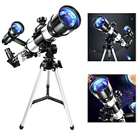 70 Mm HD Astronomical Reflector Telescope Monocular Set And Tripod Moon Filter for Adults Children