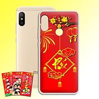 Ốp lưng dẻo cho điện thoại Xiaomi Redmi Note 6 pro - 01125 7972 PHUC04 - Tặng bao lì xì Cung Chúc Tân Xuân - Hàng Chính Hãng