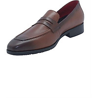 Giày Lười Nam Da Bò G118N - Nâu