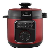 Nồi Áp Suất Điện 5 Lít Elmich Smart Cook Pressure Cooker PCS-1801 900W hàng chính hãng