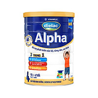 Sữa bột DIELAC ALPHA 4 - Hộp thiếc 1500g (dành cho trẻ 2-6 tuổi)