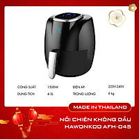 Nồi chiên không dầu màn hình cảm ứng Hawonkoo ( 4.5L ) - AFH-045 - Hàng Chính Hãng