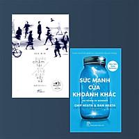 Combo 2 Cuốn :Sức Mạnh Của Từng Khoảnh Khắc + Bước Chậm Lại Giữa Thế Gian Vội Vã (Những Cuống Sách Giúp Bạn Sử Dụng Thời Gian Một Cách Hiệu Quả Nhất )
