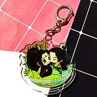 Móc khóa Hệ thống tự cứu Mặc Hương Đồng Khứu skin mica trong acrylic chibi anime cute