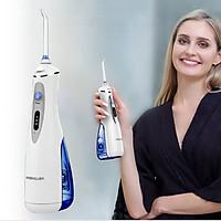 Máy Tăm Nước Du Lịch Water Pulse V400 Plus, Làm Sạch Răng Massage nướu, sử dụng mọi lúc mọi nơi,  chăm sóc răng hàng ngày - Hàng Chính Hãng